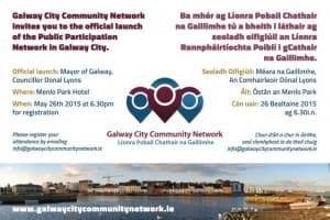 Galway City Community Network invite