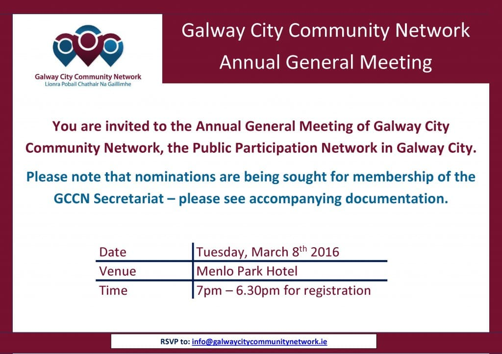 March 2016 AGM