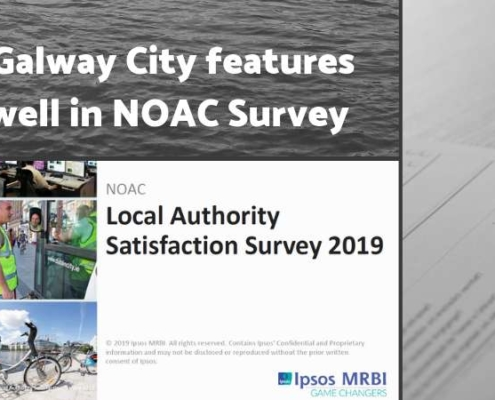 NOAC Local Authority Satisfaction Survey 2019: Galway City features well
